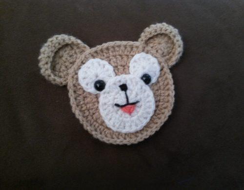 ダッフィーの編み図