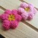 初心者向け、ぷっくりお花(モリーの花)の編み方