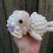 もこもこ羊のあみぐるみの無料編み図